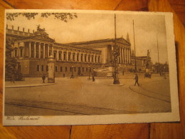 Wien Vienna Parlament Post Card AUSTRIA - Altri