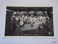 El Tamborito-Panama-Carte Photo - Panama