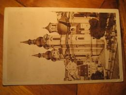 KARLSBAD Kath. Kirche Post Card CZECHOSLOVAKIA - Czech Republic
