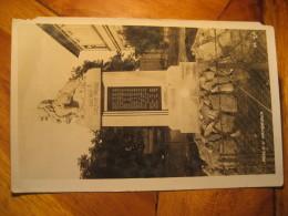 PEKLO U VAMBERKA Lion WW1 Monument Post Card CZECHOSLOVAKIA - Czech Republic