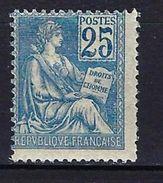 "FR YT 114 "" Mouchon 15c. Orange "" Neuf* - 1900-02 Mouchon"