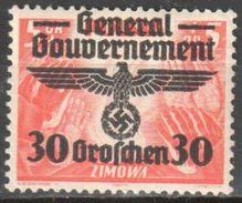 Poland - Generalgouvernement - 1940 Mi 30 MNH (**) - Generalregierung