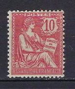 """FR YT 124 """" Mouchon 10c. Rose """" Neuf** - 1900-02 Mouchon"""