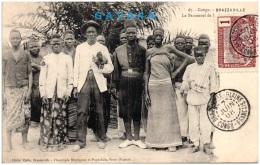 CONGO - BRAZZAVILLE - Le Personnel De La Gare De Kinshasa     (Recto/Verso) - Brazzaville