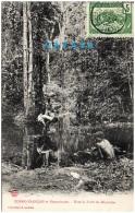 CONGO FRANCAIS Et Dépendances - Dans La Forêt Du Maymbe   (Recto/Verso) - Congo Français - Autres