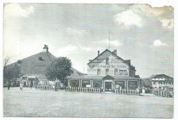 CPSM WATERLOO, CAFE RESTAURANT DES ALLIES, BRABANT WALLON, BELGIQUE - Waterloo