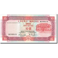Macau, 10 Patacas, 2001, KM:76a, NEUF - Macao