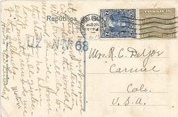 Guatamala 1929 Chaban President Barrios UPU Viewcard - Guatemala