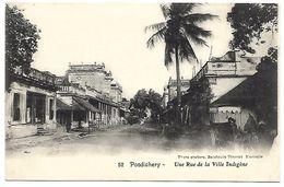 SRI LANKA - CEYLON - Pondichéry - Une Rue De La Ville Indigène - Sri Lanka (Ceylon)