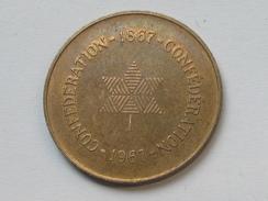 Jeton CANADA - Confédéaration 1867-1967   **** EN ACHAT IMMEDIAT **** - Professionnels / De Société