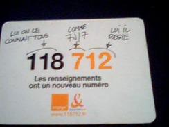 Magnet 118 712 Orange France Telecom - Magnets
