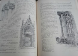 TOUR DU MONDE 1895:SICILE/MESSINE/CATHEDRALE/ART FLORENTIN/LE PESCE SPADA/LE FARO/LA VARA/FONTAINE PLACE DUOMO - Riviste - Ante 1900