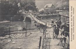 Ahrtal - Wetterkatastrophe Am 13 Juni 1910 Im Ahrtal - Zerstörte Strassenbrücke - Notbrücke - Deutschland