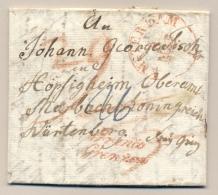 Nederland - 1832 - Complete Vouwbrief Van AMSTERDAM Met FRANCO GRENZEN Naar Würtemberg - Niederlande
