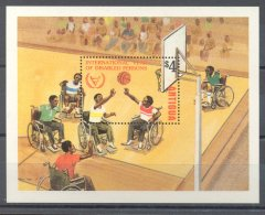 Antigua - 1981 Year Of Disabled Persons Block MNH__(TH-13489) - 1960-1981 Autonomie Interne