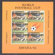 Antigua - 1982 World Cup 10c Kleinbogen MNH__(THB-4922) - Antigua Y Barbuda (1981-...)