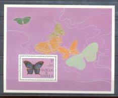Antigua - 1985 Butterflies Block MNH__(THB-89) - Antigua Und Barbuda (1981-...)