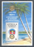 Antigua - 1995 Rotary Block MNH__(TH-1747) - Antigua And Barbuda (1981-...)