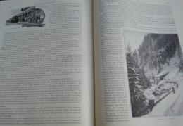 TOUR DU MONDE 1895:DAVOS/ELECTION DU BOURGMESTRE/HOMMES-SANDWICHS/LE TOBOGGANING/KLOSTERS/CLAVADEL/WIESEN - Riviste - Ante 1900