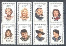 Barbuda - 1987 Actors *mint HINGED*__(TH-7299) - Antigua En Barbuda (1981-...)