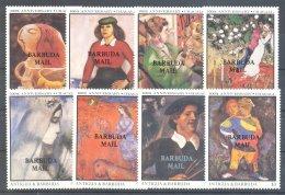 Barbuda - 1987 Marc Chagall *mint HINGED*__(TH-7345) - Antigua And Barbuda (1981-...)