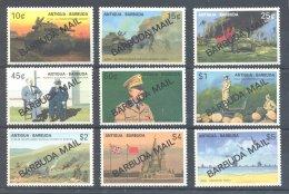 Barbuda - 1991 WW2 *mint HINGED*__(TH-2609) - Antigua Und Barbuda (1981-...)