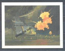 Barbuda - 1991 WW2 Block (1) MNH__(TH-10542) - Antigua Und Barbuda (1981-...)