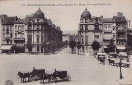 """Bruxelles - St Gilles Place Maurice Van Meenen """" Attelage """" - Pas Courant - St-Gillis - St-Gilles"""