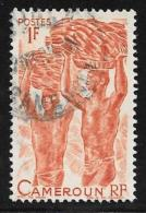 Cameroun, Scott # 310 Used Porters, Bananas, 1946 - Cameroun (1915-1959)