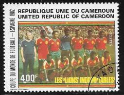 Cameroun, Scott # 713 Used World Cup, 1982 - Cameroon (1960-...)