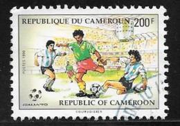Cameroun, Scott # 848 Used World Cup, 1990 - Cameroon (1960-...)