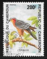 Cameroun, Scott # 882 Used Sparrow Hawk, 1992 - Cameroon (1960-...)