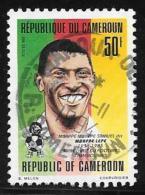 Cameroun, Scott # 896B Used Samuel, Soccer Player, 1992 - Cameroon (1960-...)