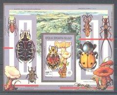 Madagascar - 1991 Scouts Block MNH__(TH-9916) - Madagascar (1960-...)