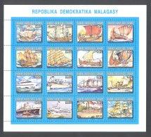Madagascar - 1993 Ships Sheet MNH__(THB-4974) - Madagaskar (1960-...)