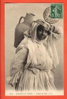 JAI-06  Scènes Et Types. Femme Du Sud. LL.    Cachet Frontal  Marseille Bouches-du Rhone 1909 - Algérie