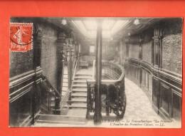 JAI-09  Le Havre Le Transatlantique La Provence, Escalier Des Premières Classes   Cachet Frontal  1909 - Dampfer