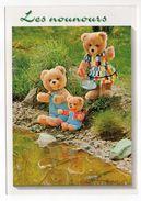 Les Nounours  -1999--Ours En Peluche-- Jouets Personnalisés    Cpm N° 5470/4  éd Dubray - Jeux Et Jouets