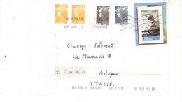Francia 2011 Busta  Viaggiata Francia Italia Con Bolli Racc. Priority Ord.See Scans - Storia Postale