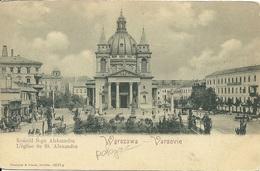 Pologne Polska Poland Warszawa Kosciol S.go Aleksandra - Pologne