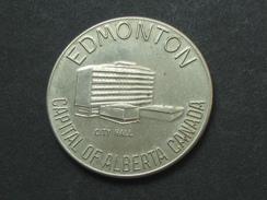 Jeton CANADA - Edmonton City Hall - Canada's Fourth Largest City -   **** EN ACHAT IMMEDIAT **** - Professionnels / De Société