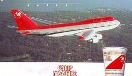 Télécarte  JAPON *  * NORTHWEST   (2293) * Phonecard JAPAN * Airplane * Flugzeug AVION * AIRLINE - Avions