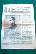 FASCI GIOVANILI DI COMBATTIMENTO_31 MARZO XIII-BOLLETTINO QUINDICINALE DEL COMANDO FEDERALE DEI F.G.C. DI VERCELLI- - Books, Magazines, Comics
