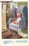 PELUCHE OURS TEDDY-BEAR NOUNOURS JEU JOUET ENFANT BABY KID ORSACCHIOTTO FUSSELT OSITO TEDDYBÄR ILLUSTRATEUR - Games & Toys