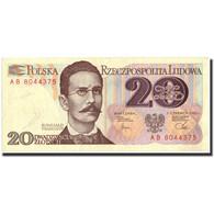 Pologne, 20 Zlotych, 1982, 1982-06-01, KM:149a, TTB - Pologne