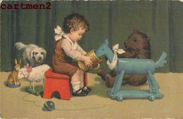PELUCHE OURS TEDDY-BEAR NOUNOURS JEU JOUET ENFANT BABY KID ORSACCHIOTTO FUSSELT OSITO TEDDYBÄR ILLUSTRATEUR - Jeux Et Jouets