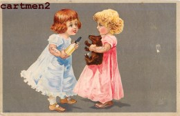 GAUFREE EMBOSSED PELUCHE OURS TEDDY-BEAR NOUNOURS JEU JOUET ENFANT BABY KID ORSACCHIOTTO FUSSELT OSITO TEDDYBÄR - Jeux Et Jouets