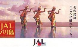 Télécarte  JAPON * 110-154301 * JAL (2308) * Phonecard JAPAN * Airplane * Flugzeug AVION * AIRLINE - Avions