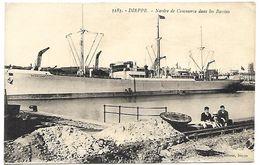 DIEPPE - Navire De Commerce Dans Les Bassins - Dieppe