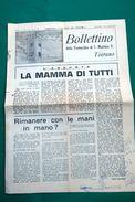 """BOLLETTINO Della PARROCCHIA Di SAN MARTINO V. TOIRANO-5 MAGGIO 1967-SUPPLEMENTO A """"LA VOCE DEL PADRONE""""- - Altri"""